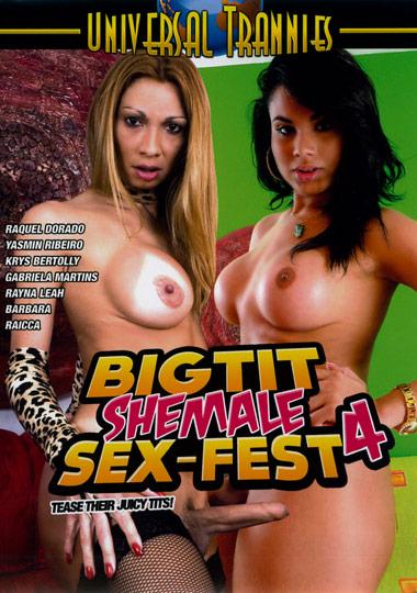 Big Tit Shemale Sex-Fest 4 (2012)