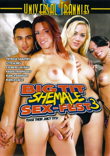 Big Tit Shemale Sex-Fest 3 (2012)