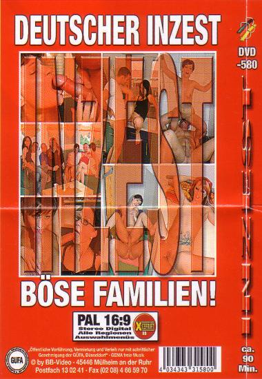 Deutscher Inzest B Cover