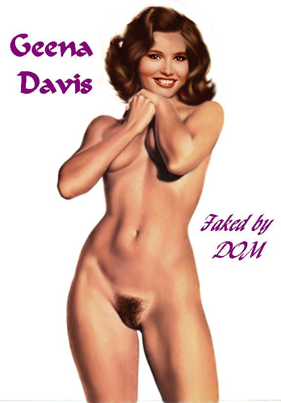 Re Geena Davis Nude Boobs Ass And Pussy