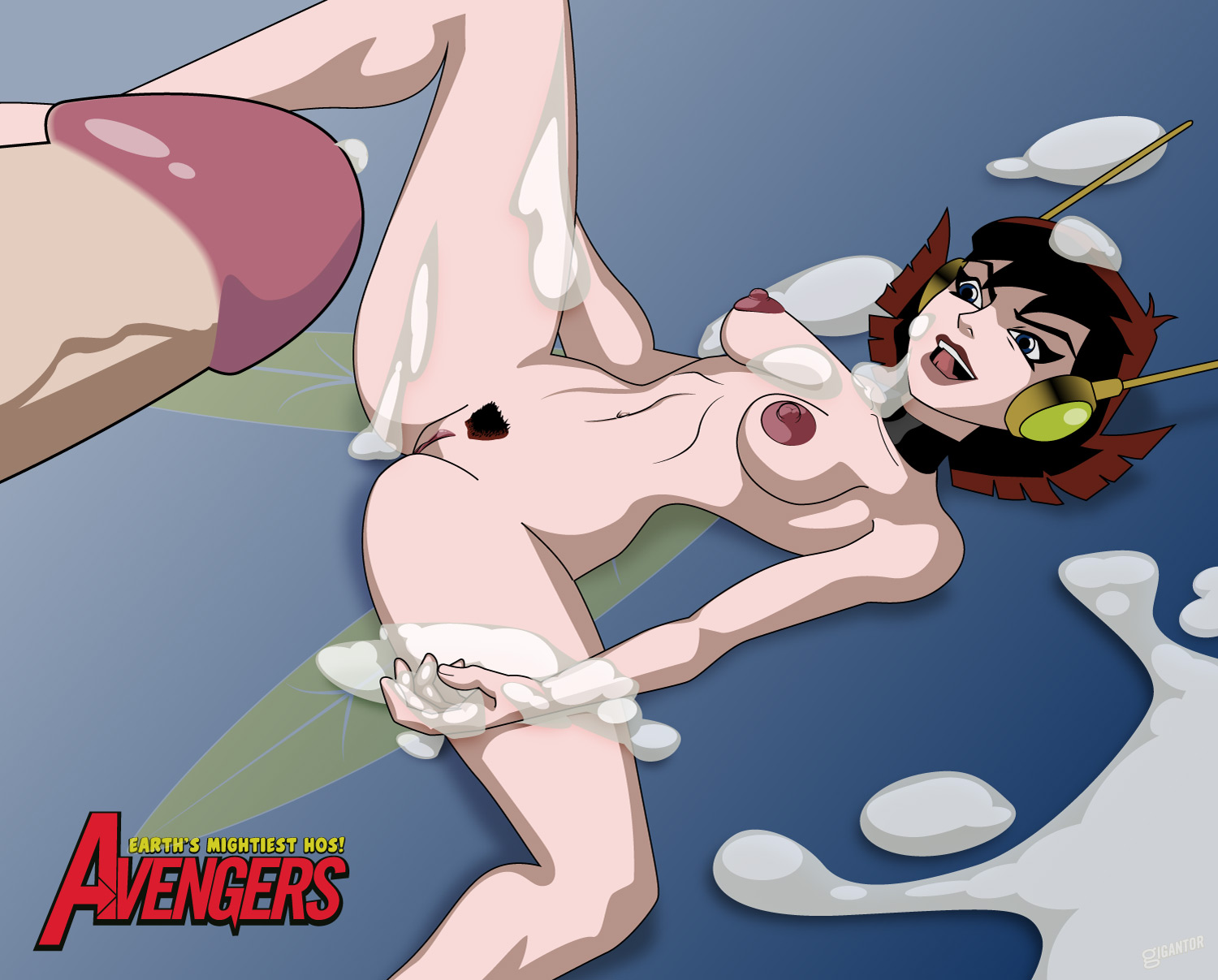 Consider, that avengers wasp naked business