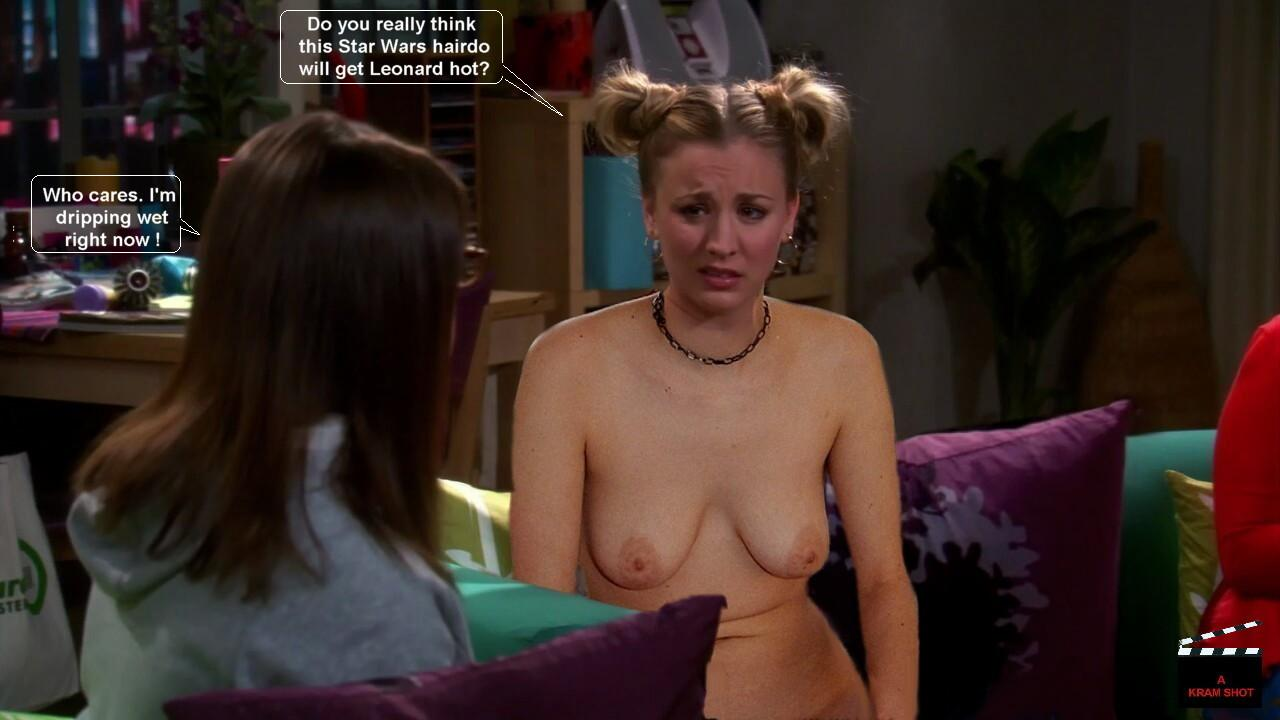 big bang theory girl naked
