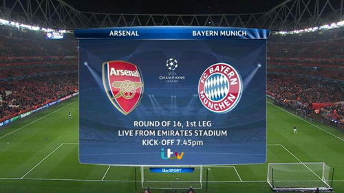 UEFA Champions League 2013 02 19 Round Of 16 Arsenal Vs Bayern Munich 720p HDTV