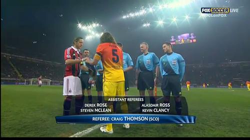 UEFA Champions League 20.02.2013 AC Milan v Barcelona