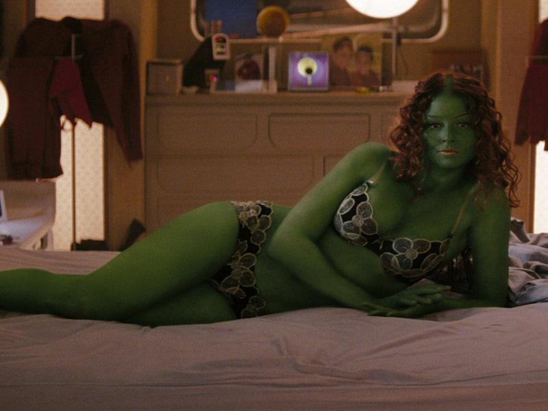 Star trek green girl porn