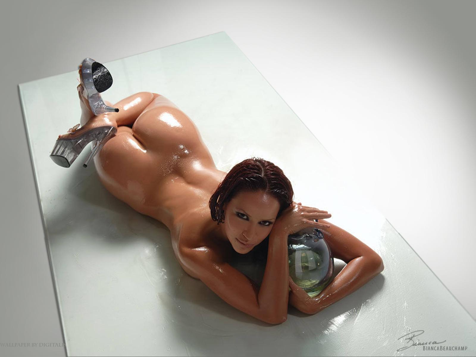 Секси девушки в масле 9 фотография
