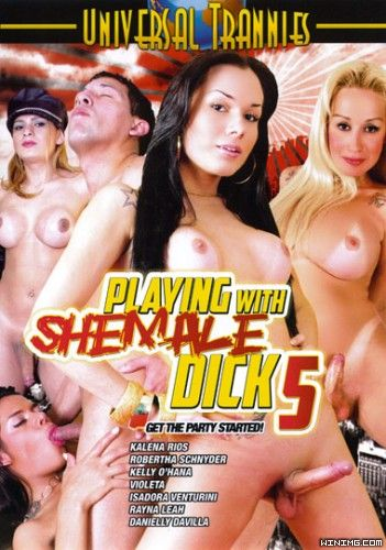 Playing With Shemale Dick 5 (2012)