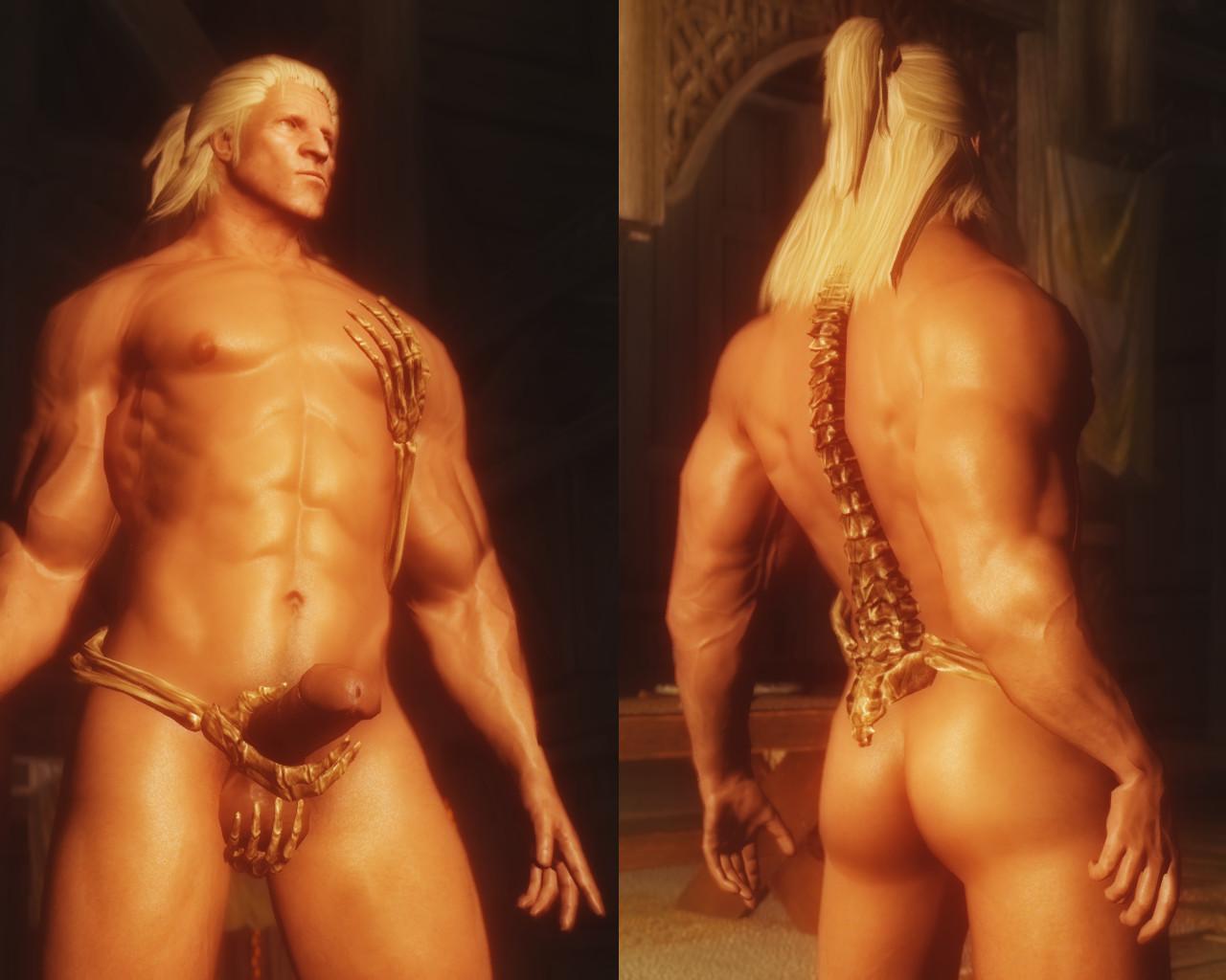 armor in Naked men