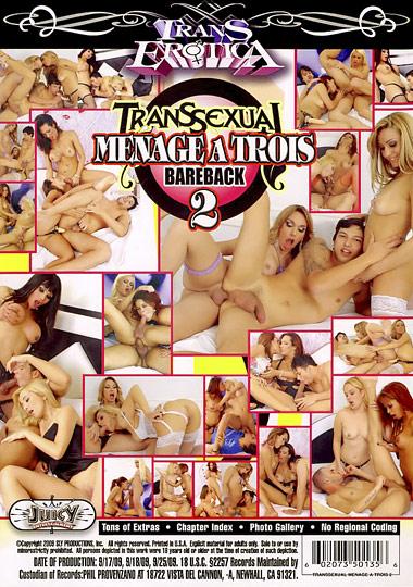 Transsexual Menage A Trois Bareback 2 (2009)