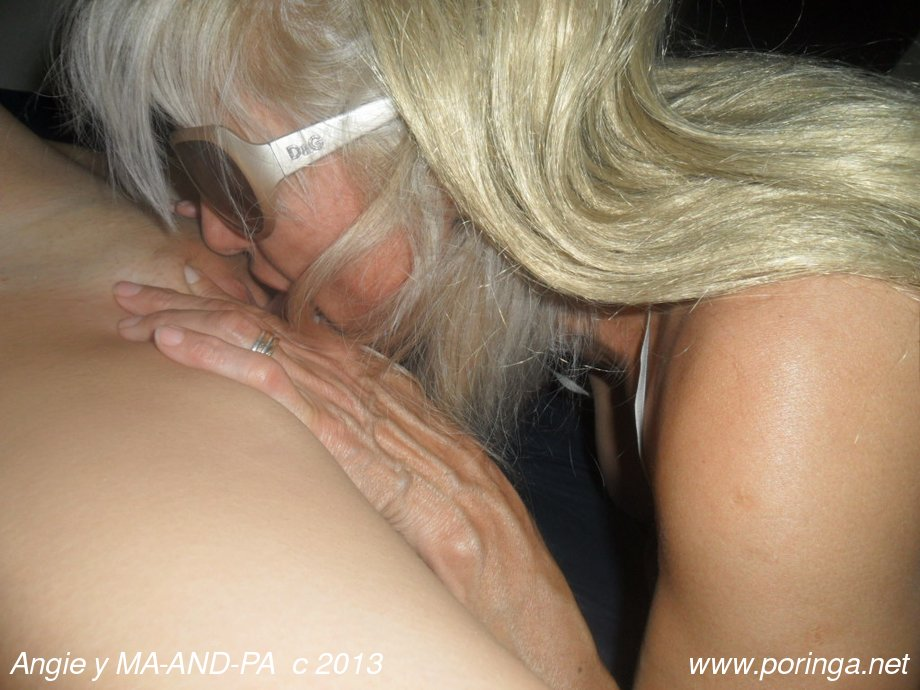 Angie y MA-AND-PA cinturonga y trío con videos