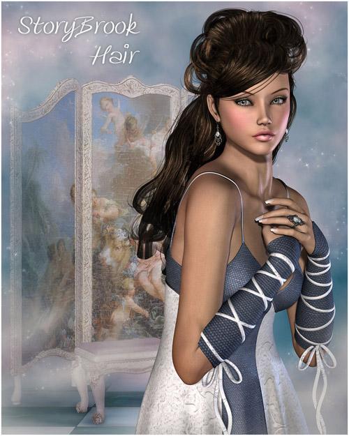 StoryBrook Hair V4, A4, G4, Miki4
