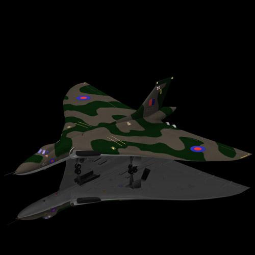 Avro Vulcan (for Poser)