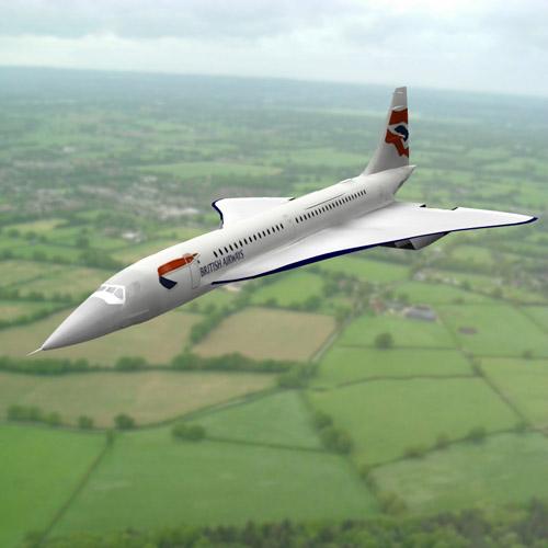 Concorde SST (for Poser)