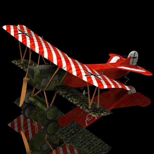 Fokker D.VII (for Poser)