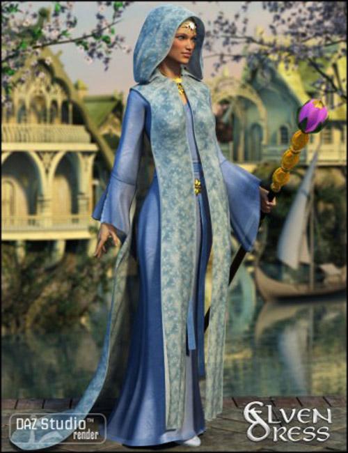 Elven Dress for Genesis