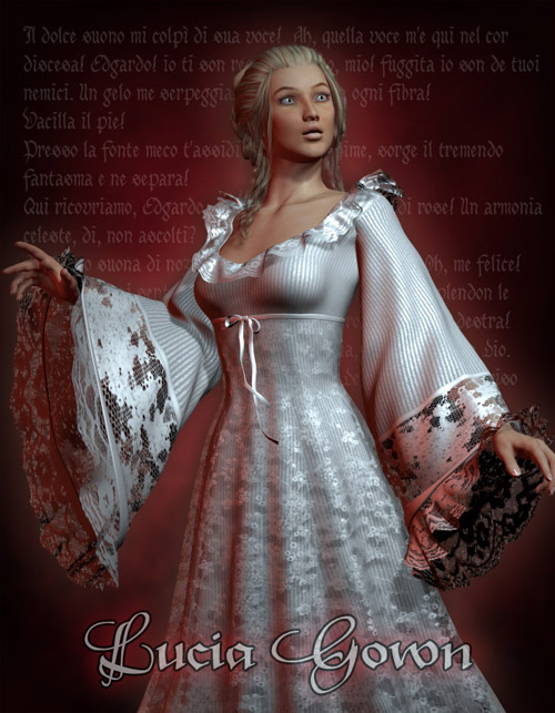 Lucia Gown for V4