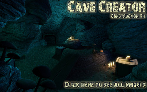 Cave Creator Construction Set by Lennart Hillen