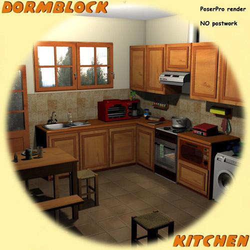 Dormblock - Kitchen