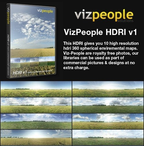 Viz.People HDRI Vol.1