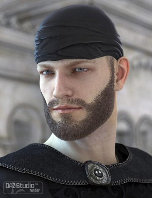 Unshaven Beard for Genesis