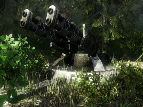 Sci-Fi Turrets model pack