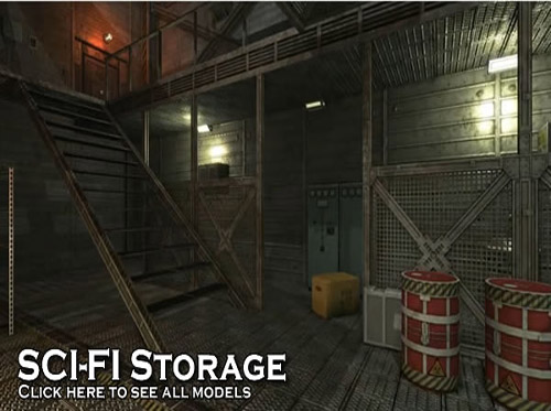Sci-Fi Storage by DEXSOFT-GAMES