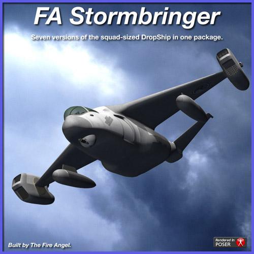 FA-Stormbringer Squad DropShip.
