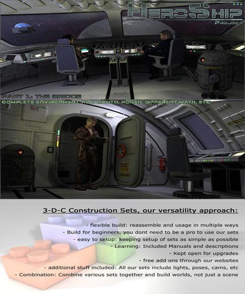 HeroShip Cockpit by 3-D-C