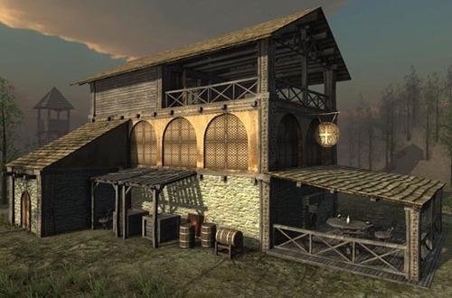Medieval Tavern model pack