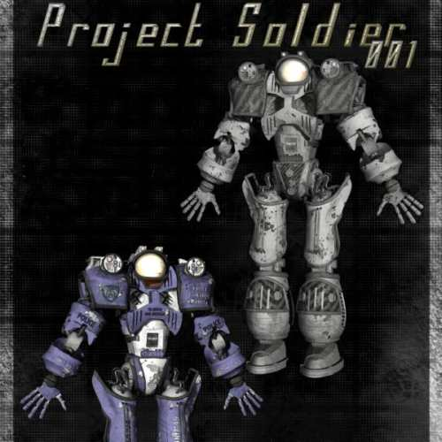 Project Soldier 001 (for Poser)