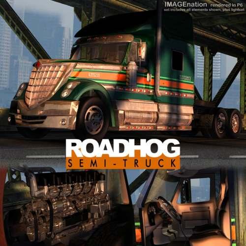IN RoadHog Semi Truck