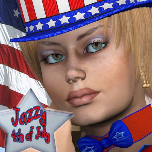 Jazzy 4th of July for Poser