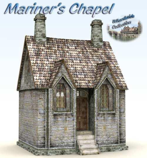 Mariner's Chapel for Poser 4+