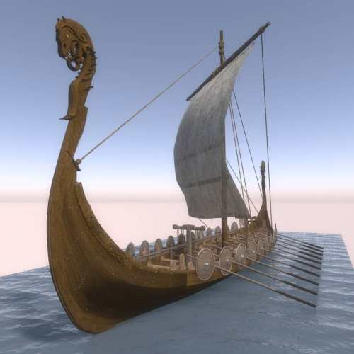 Viking Longboat (for Poser)