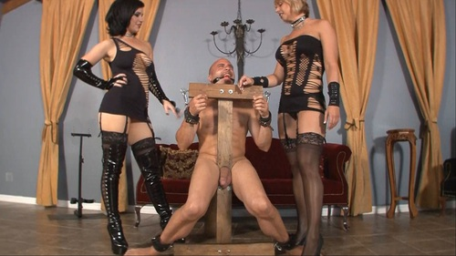 A Handjob Fit For A Slave Female Domination