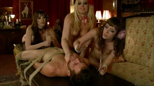 Three French Whores Female Domination