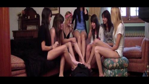 Suffocated Under Seven Girls Feet Female Domination