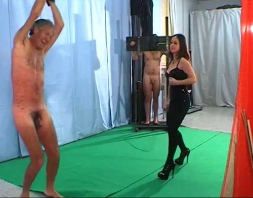 Whining Toys Whipping Female Domination