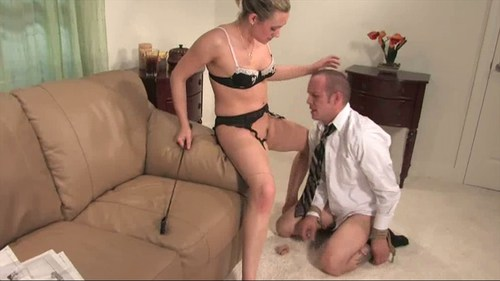 Gwen Diamond And Billy Female Domination