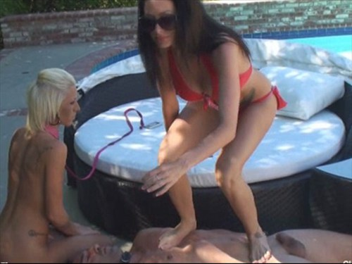Trample Kiss Female Domination