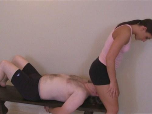 Bench Facesit Female Domination