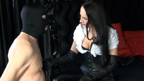 Leather Gloves Education Female Domination
