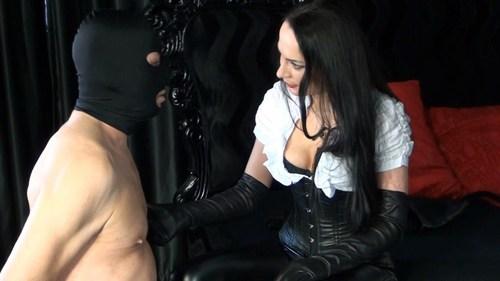 Leather Gloves Education Female Domination