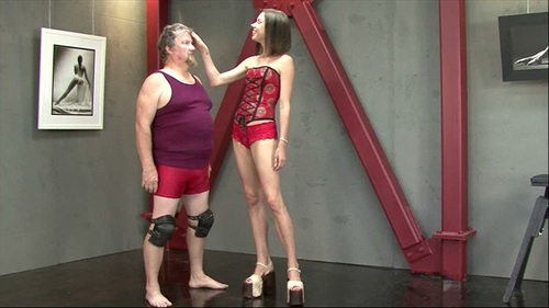 Ball Rupturing Ballerina Female Domination