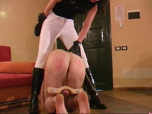 Slave In Agony female domination