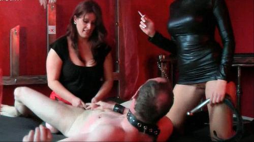 Sklavenschwein Hart Rangenommen Female Domination