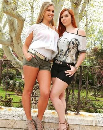 Only Blowjob � Angell Summers & Eva Parcker � Action In The Park!