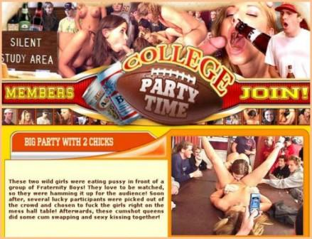 CollegePartyTime.com Site Rip