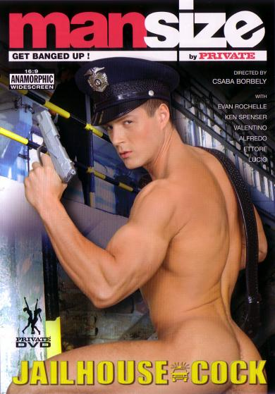 Private Man - Mansize - Jailhouse Cock I DVD5 Cover