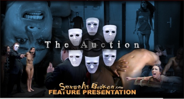 """The Auction\"": Real life fantasies from your favorite porn stars! [720] Cover"